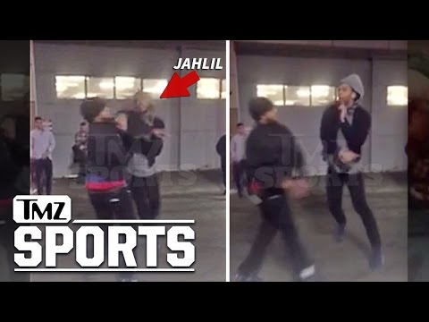 Jahlil Okafor 2ND FIGHT IN BOSTON | TMZ Sports