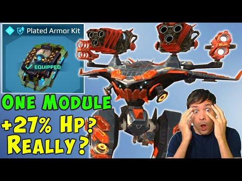 +27% HP On ONE Maxed Titan Module? New War Robots Update Live Gameplay WR