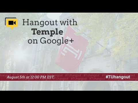 Temple University lunchtime chat to discuss Move-In 2013
