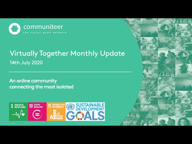 Virtually Together Monthly Update July 2020