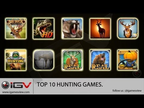 Top 10 Hunting Games For IPhone / IPad / IPod