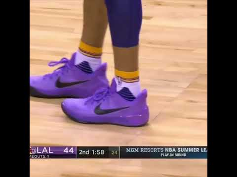 8d595544c1a3 Nike Kobe A D  Purple Stardust  - YouTube