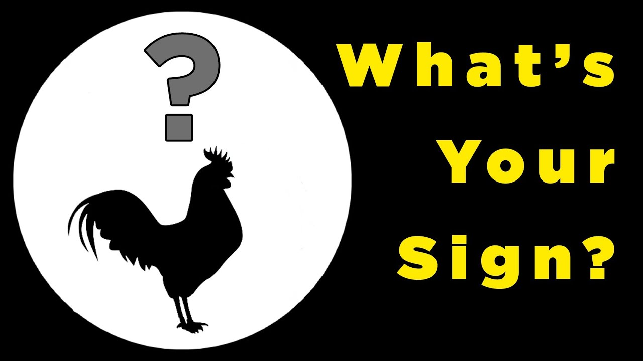 What your chinese zodiac sign says about you youtube buycottarizona Image collections