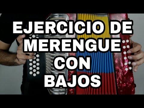 EJERCICIO DE MERENGUE (CON BAJOS) – Clases de acordeón