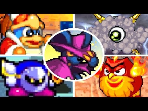 Kirby Squeak Squad - All Bosses (No Damage)