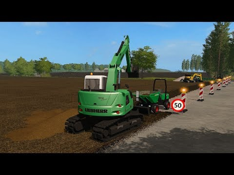 Farming Simulator 17 - Forestry And Farming On The Valley The Old Farm 107