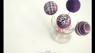 how to make cake pops with flowers