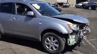 Американская свалка ( Mitsubishi Outlander 2008 за 953$ ).