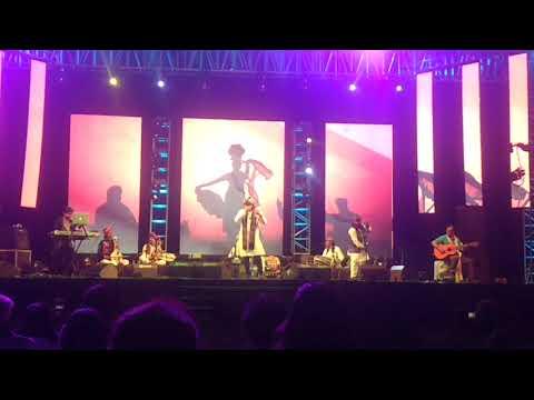 Mame khan performing Chaudhary song at Upvan fest, (sanskruti art fest) Thane, Jan 2018.