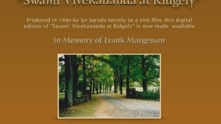 Swami Vivekananda at Ridgely