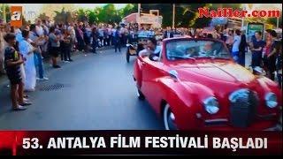 Atv haber - 53. Uluslararası Antalya Film Festivali kortej geçişi büyük ilgi gördü