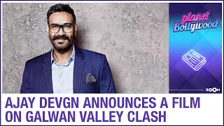 Ajay Devgn announces a film on Galwan valley incident & Maidaan's release date confirmed