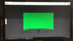 Permanent fix: How to fix Green Video Screen for windows 10 in Google Chrome
