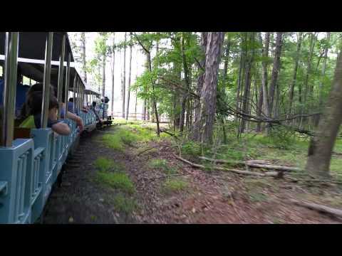 Amazing Train Ride at Turtle Back Zoo