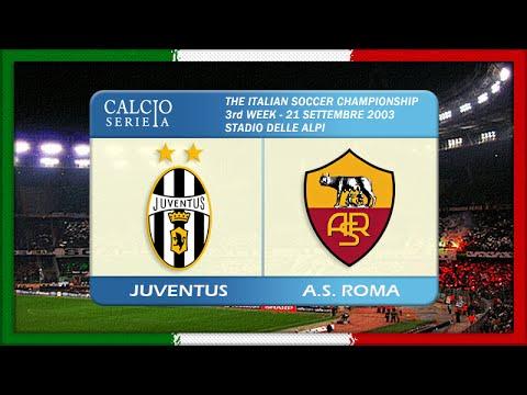 Serie A 2003-04, Juve - AS Roma (Full, RU)
