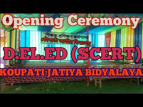 OPENING CEREMONY, workshop for D.El.Ed (ODL) course SCERT Assam