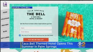 Taco Bell Is Opening A Hotel In Palm Springs This Summer