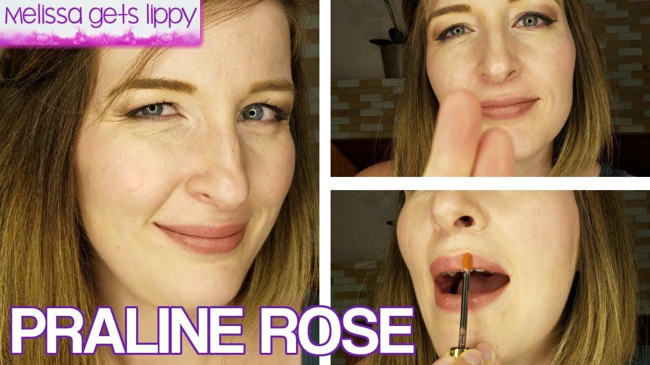 Lipsense Praline Rose Application Demo Youtube