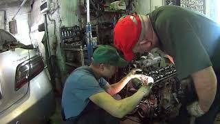 Авторемонт Волга ГАЗ-31105 замена ДВС ЗМЗ
