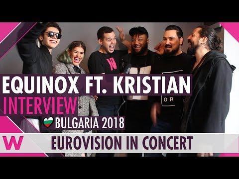 "Equinox & Kristian Kostov ""Bones"" (Bulgaria 2018) Interview @ Eurovision in Concert 2018"