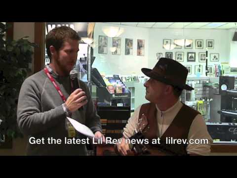 Lil Rev Interview and Performance at Ward Brodt Music/ Bignote Express