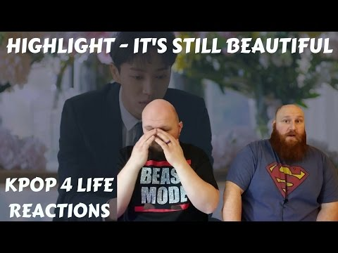 Highlight(하이라이트) _ It's Still Beautiful(아름답다) REACTION VIDEO (BIG PAUL HAD FEELS FOR THE FIRST TIME)