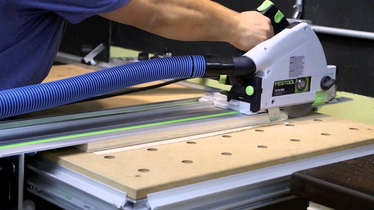 Building a Slab Plywood Door with the Festool System Part I MFT 3