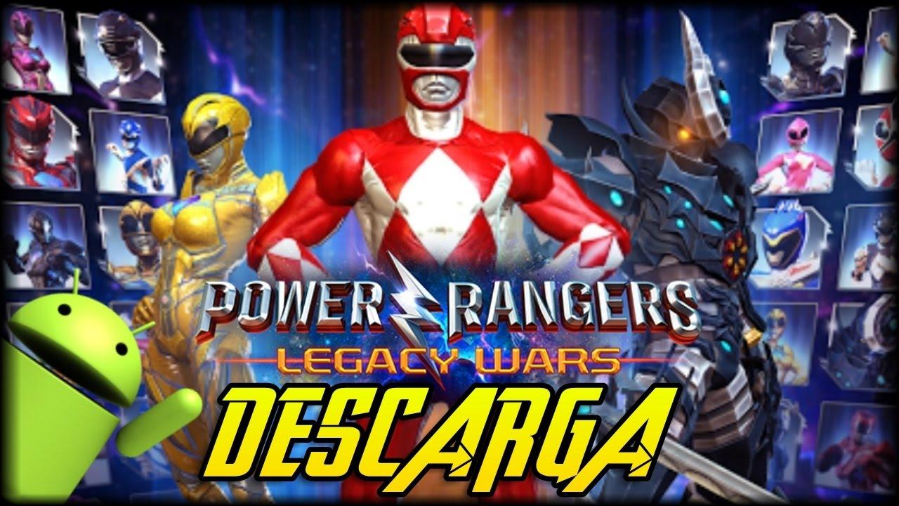 Descarga Power Rangers Legacy Wars Apk Android Gameplay Juegos