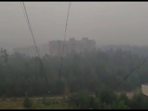 Усть-Илимск продолжает задыхаться от дыма