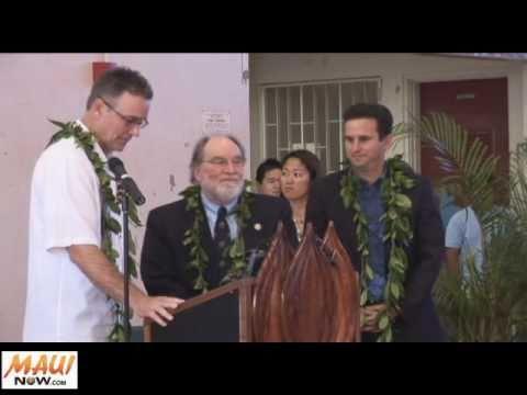 Maui Inauguration Gov Neil Abercrombie and Lt Gov Brian Schatz - December 11, 2010 - MauiNOW.com