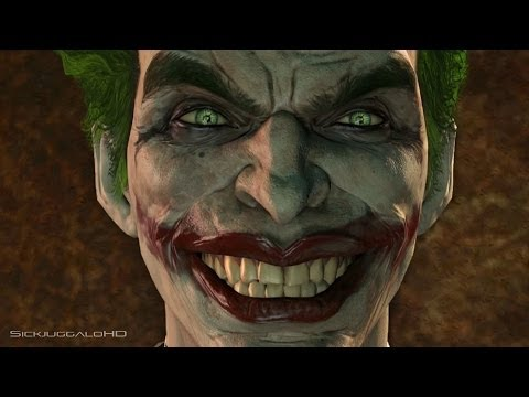 Batman Arkham Origins Joker Meets Harley Quinn for the First Time : Play as The Joker