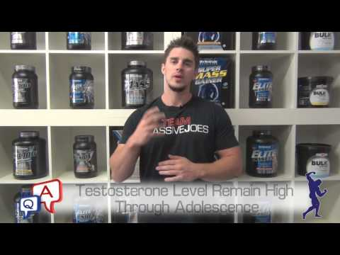 What Age Should You Start Taking Natural Testosterone Boosters? MassiveJoes.com MJ Q&A Review