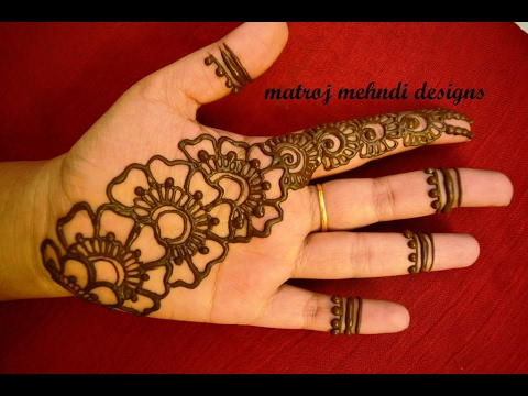 Easy Simple Mehndi Design Video