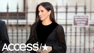 Meghan Markle Stuns At Her First Solo Public Appearance As A Royal | Access