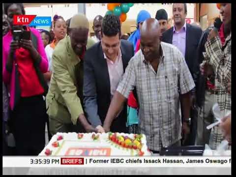 Naivas Supermarket opens the latest branch at Capital Centre along Mombasa Road