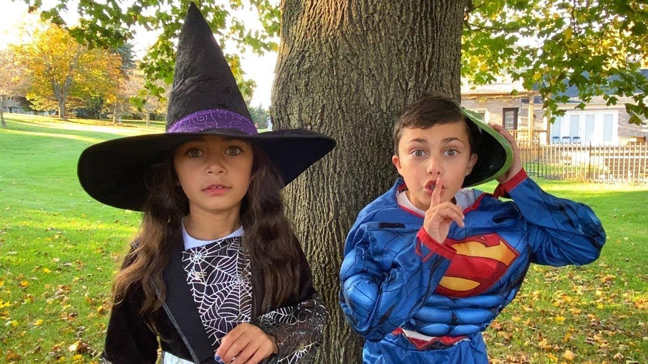 Download Heidi y Zidane en la historia de Halloween.Recorrido de Dulce o Truco