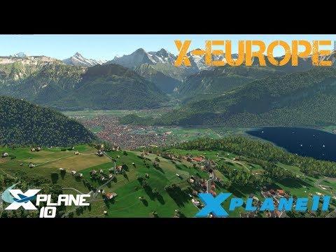  XPlane 10/11  Tutorial X-Europe 2    SimHeaven   