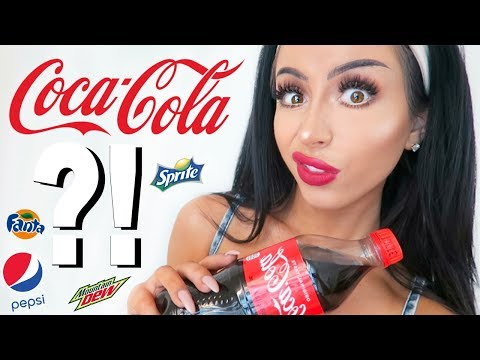 TRYING SODA FOR THE FIRST TIME! (I'm 25 lol)
