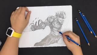 Logan |  Sketch by Juno L.