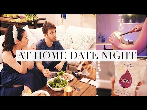 Stay At Home Cozy Date Night!