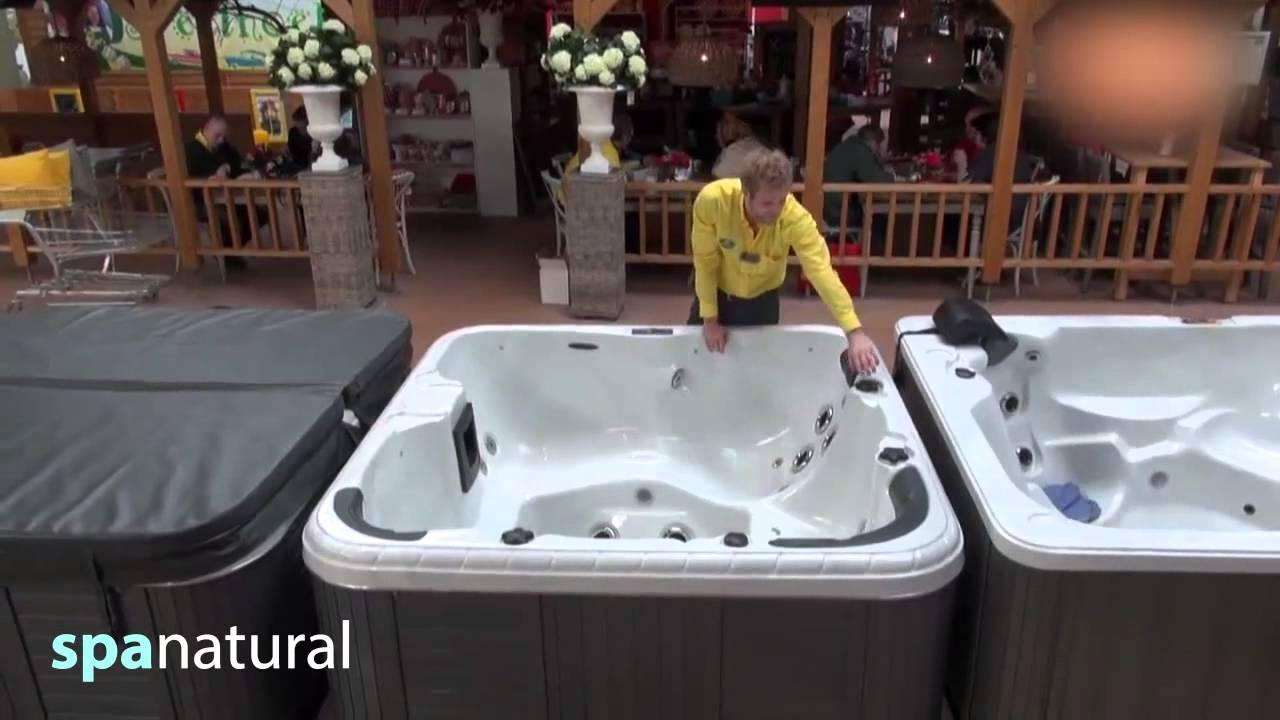 deutschland spa natural whirlpool outdoor und indoor f r den garten chlorfrei youtube. Black Bedroom Furniture Sets. Home Design Ideas