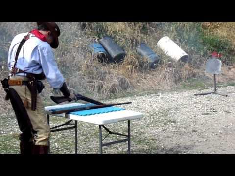 kevin goes cowboy shooting!