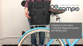 How to Attach the Po Campo Bergen Pannier to Your Bike Rack