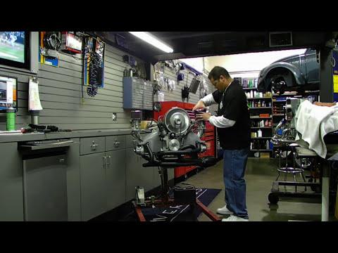 Ed Barrett's 2110cc Engine going to the UK