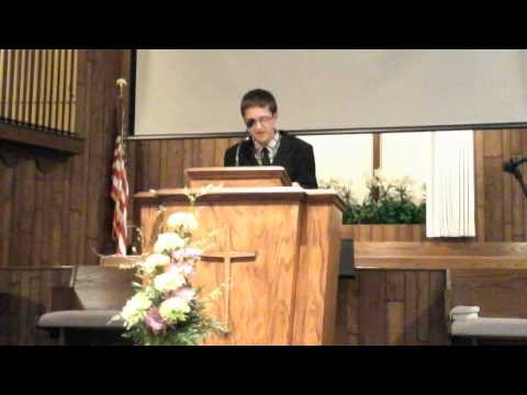 My first time preaching at my church!