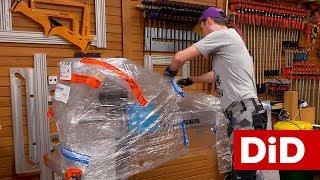 706. Profesjonalna tokarka do drewna Hager HDE250 - unboxing