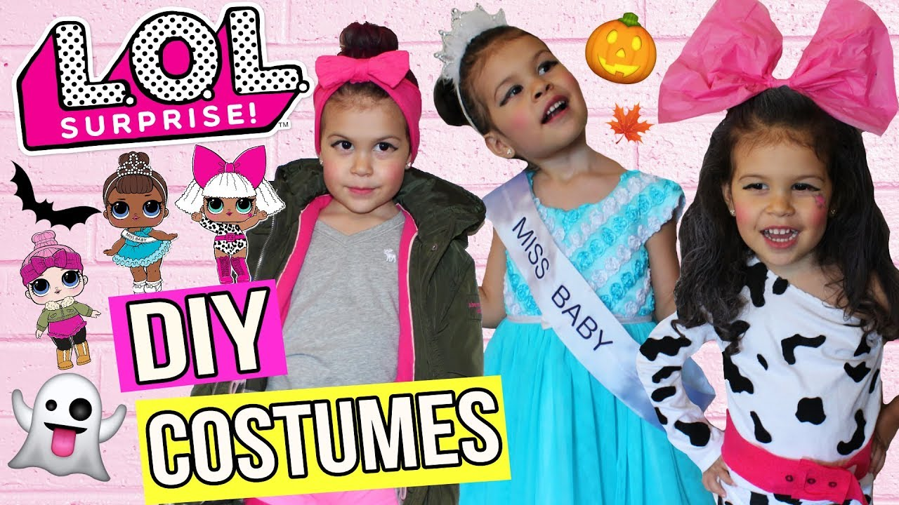 Easy diy how to real life lol doll best halloween costumes easy diy solutioingenieria Choice Image