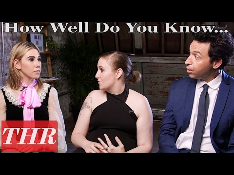 'Girls' Cast Allison Williams, Lena Dunham & More Play 'How Well Do You Know Your Castmates?' | THR
