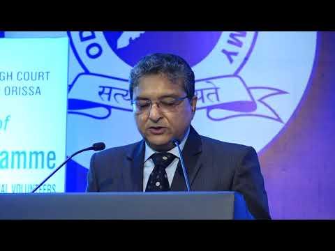 Hon'ble Shri Justice Vineet Saran, Chief Justice, Orissa High Court and Patron-in-Chief, OSLSA