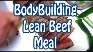 Lean Beef Meal - low carb recipes - meal prep - healthy recipe channel - what I ate today